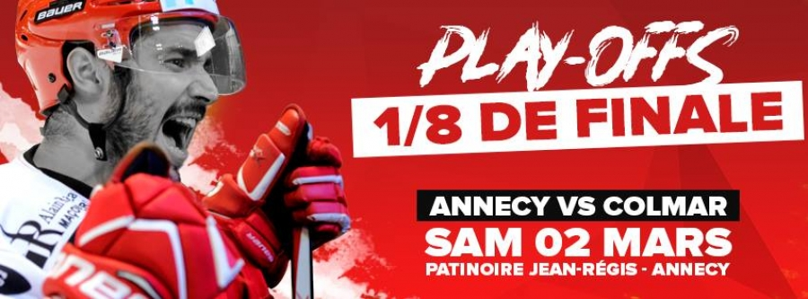 1/8 Play Off Annecy vs Colmar
