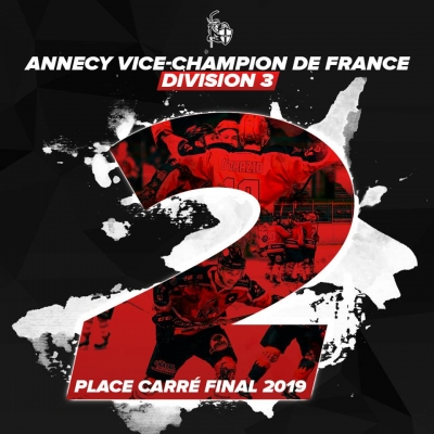 Annecy vice champion de france D3 !